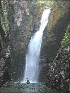 Cachoeiras Andorinhas no Petar