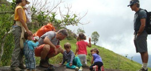 Família e natureza no Petar